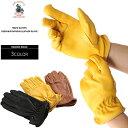 【WIP03】 NAPA GLOVE ナパグローブ レザーグローブ ディアスキン 鹿革 手袋 革手袋 メンズ カジュアル