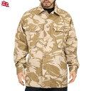 実物 新品 イギリス軍TROPICAL COMBAT ジャケット デザートDPMカモ 上品でシャープな迷彩パターンで 他国とは一味違ったデザイン 薄手..