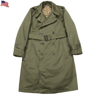 與真正美國陸軍美國陸軍 m-51 風衣外套條件的美國土地在部隊上世紀 50 年代棉花也不出來很好到精緻的古董物品
