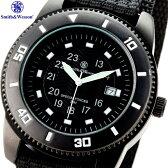 Smith & Wesson スミス&ウェッソン 4316 Commando Watch コマンドウォッチ 暗い所でも指針等が 発光し時間を簡単に確認可能 調整可能なナイロン製のリストバンドを使用 様々なシーンで活躍することは間違いなし / WIP 0601楽天カード分割 10P18Jun16