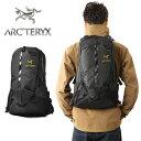 ARC'TERYX アークテリクス ARRO 22 Backpack ブラック 人気No.1モデル、アロー22 なめらかな印象と機能性を 両立させている事が人気モ..
