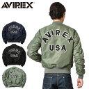 【送料無料】AVIREX アビレックス MA-1 CM LO...