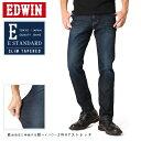 EDWIN エドウィン E STANDARD 360°モーションテーパード EDM32-126(濃色ブルー)【WIP03】