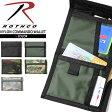ROTHCO ロスコ NYLON COMMAND ワレット 5色 ミリタリーワレット サイフ 財布 二つ折り財布 メンズ 迷彩 カモフラ 0601楽天カード分割 532P16Jul16