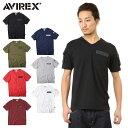 AVIREX アビレックス 6143386 FATIGUE VネックTシャツ【クーポン対象外】