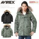 AVIREX アビレックス 6152145 N-3Bフライトジャケット コマーシャルモデル リアルファー【クーポン対象外】