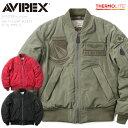 【20%OFFクーポン対象】AVIREX アビレックス 6182208 MA-1フライトジャケット X-15 TYPE-II