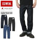ショッピングストレート EDWIN エドウィン E404 INTERNATIONAL BASIC デニム ジーンズ ルーズストレート 日本製