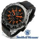 【クーポン対象外】 Smith & Wesson スミス&ウェッソン CALIBRATOR WATCH 腕時計 ORANGE/BLACK SWW-877-OR