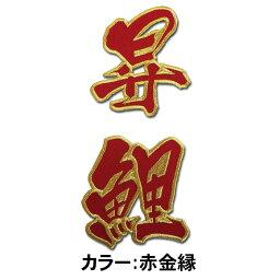 【プロ野球 広島カープグッズ】昇鯉ワッペン(小)