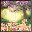 送料無料 アサヒペン ディズニープリンセスふすま紙 バンビ(ふすま紙2枚組用)