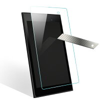 wisersガラスフィルムASUSMeMOPad7ME572CME572CLタブレット専用強化ガラス液晶保護ガラスフィルム、耐衝撃、表面硬度9H、指紋・汚れ防止コート、スムースタッチ、0.3mm