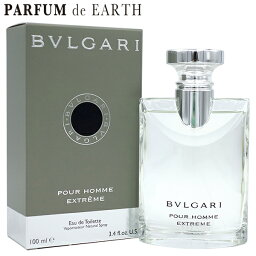 <strong>ブルガリ</strong> BVLGARI <strong>ブルガリ</strong> プールオム エクストリーム 100ml EDT SP【あす楽対応_14時まで】【<strong>香水</strong> メンズ】【EARTH】【<strong>香水</strong> ブランド 人気 ギフト 誕生日 プレゼント】