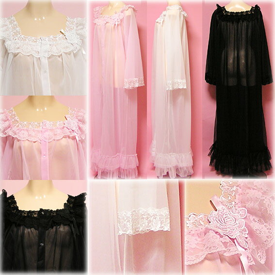 See through Negligees http://global.rakuten.com/en/store/wishroom/item/41786/