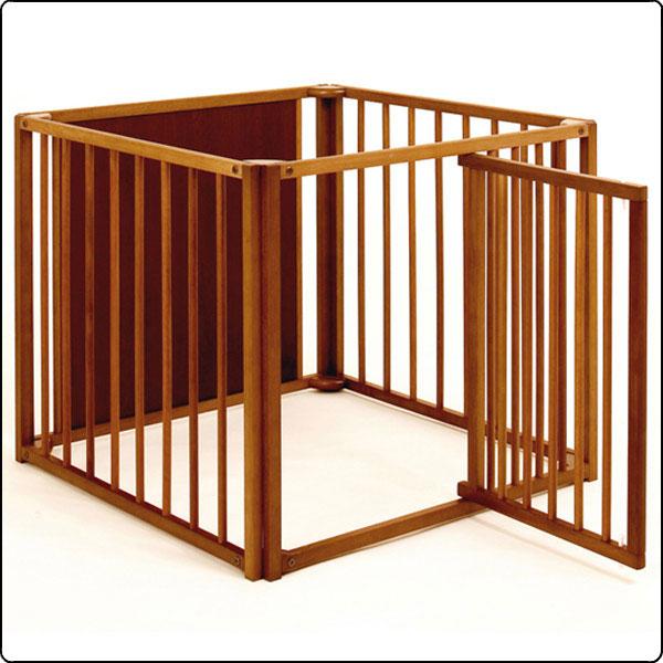 ペットサークル 80M [木製 / 室内犬用 / 拡張可能](サークル・ケージ・ゲージ) シンプルに暮らしの中になじむデザイン、安心の日本製。部分的な枠種の変更可能です。