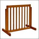 (ペットゲート 犬 柵 伸縮可能 木製 室内用 日本製)スタンドゲート 60A