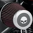 ショッピングハーレーダビッドソン ハーレーダビッドソン Harley Davidsonスクリーミングイーグル ヘビーブリーザーデコレイティブエンドキャップ/ウィリーGスカルHarley-Davidson Screamin' Eagle Heavy Breather Decorative Endcap - Willie G.Skull