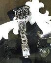 【Chrome Hearts】 クロムハーツ ロレックス カスタムウォッチクロムハーツ ダガーID ブレスレット ウイズ ロレックス サブマリーナCHROME HEARTS Dagger ID Bracelet with ROLEX Submariner本物 正規品 アメリカ買付 USA直輸入
