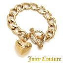 ジューシークチュール JUICY COUTURE ブレスレットBANNER HEART STARTER BRACELET(Gold)バナー ハートスターター ブレスレット(ゴールド) 新作 日本未入荷 アメリカ買付 USA直輸入 通販