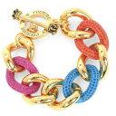 ジューシークチュール Juicy Couture ブレスレット/バングルCOLOR ME IN COUTURE CHAIN BRACELET(Gold) カラー ミー チェーン ブレスレット(ゴールド) ギフト プレゼント レディースアクセサリー 新作 日本未入荷 アメリカ買付