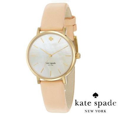 ケイトスペード Kate Spade 腕時計 Metro Metro Strap Watch 34mm (Vachetta) メトロ レザーストラップ 腕時計 (バチェッタ) 新作 正規品 アメリカ買付 レディース 時計 【ケイトスペード Kate Spade】新作 腕時計アメリカ USA LA在住スタッフ買付発送!!