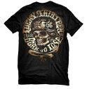 ★L1472 ラッキー 13メンズ TシャツLucky-13 Sleazy Rider Men's Tee ブラック 新作 アメリカ買付 USA直輸入