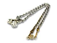 【GANGSTERVILLE/ギャングスタービル】「Dice Pendant Top&Necklace Chain Set/ダイスペンダントトップ&ネックレスチェーンセット」(GSG-NC001B)【送料・代引き手数料無料】【あす楽対応】(WEIRDO/ウィアード/GLAD HAND/グラッドハンド)