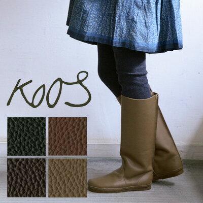 2016AW KOOS(コース)ロングブーツ LUCAS-L / ルーカス ロング 【smtb-TD】【tohoku】 【正規代理店】足をスッポリ包み込む愛らしさ漂うロングブーツ。ベーシックなデザインで人気のKOOS定番ブーツ Lucas (ルーカス)
