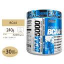 BCAA 5000 ブルーラズベリー 240g(8.5oz)《約30回分》Evlution Nutrition(エボリューションニュートリション)アミノ酸 ロイシン イソロイシン バリン パウダー