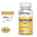 ナイアシンアミド(ビタミンB3) 500mg 100粒 SO...