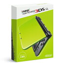 【中古】afb【本体箱説有り】New ニンテンドー nintendo 3DS LL ライム×ブラック【4902370533217】
