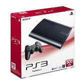 【中古】afb【本体箱説有り】プレイステーション3 PlayStation3 500GB /チャコール・ブラック(CECH−4000C)【4948872413251】