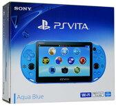 【中古】afb【本体箱説有り】PS Vita (2000)Wi−Fiモデル(アクア・ブルー)【4948872414050】