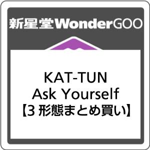 【先着特典付】KAT-TUN/Ask Yourself<CD>(3形態まとめ買い)[Z-7103]20180418