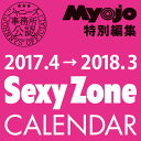 2017.4→2018.3 SexyZoneカレンダー<カレンダー>20170309