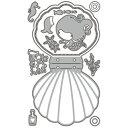 225/ワンダーハウス/ダイ(抜型)/カード Dream come true