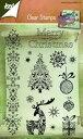 【6410-0127】Joy! Crafts/ジョイ・クラフツ/Clear Stamps/クリアスタンプ/Merry Christmas スクラップブッキング ダイカット ペーパー クラフト ハンドメイド カード作り アルバム作り