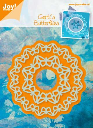 6002-0312/Joy! Crafts/ジョイ・クラフツ/ダイ(抜型)/Circle butterfly 蝶 サークル