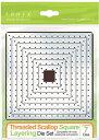 486E /トニック・スタジオ/ダイ(抜型)/Threaded Scallop Square Layering スクエア スカラップ レイヤー