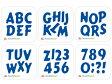 【N57-02(1-6)】WonderHouse/ワンダーハウス/ダイ/アルファベット&数字 6枚セット スクラップブッキング クラフト ハンドメイド作品に! 02P28Sep16 02P01Oct16