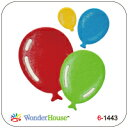 【N57-063】WonderHouse/ワンダーハウス/ダイ/balloon ふうせん 風船 セット スクラップブッキング ダイカット ペーパー クラフト ハンドメイド カード作り アルバム作り