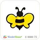 N57-075/ワンダーハウス/ダイ(抜型)/bee ハチ はち 蜂