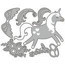 【244】WonderHouse/ワンダーハウス/ダイ/カット&エンボス/ユニコーン Unicorn Believe スクラップブッキング クラフト ハンドメイド作品に! 02P03Dec16