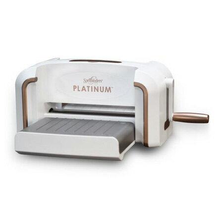 【送料無料】【PL-001】Spellbinders/スペルバインダーズ/ダイカットマシン/Platinum プラチナム 8.5インチプラットフォーム スクラップブッキング クラフト ハンドメイド作品に! 02P05Nov16