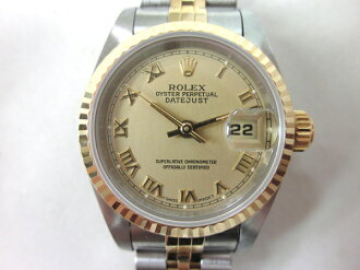 Brand Watches Rolex Datejust watch W-SS/K18 ladies pre-owned