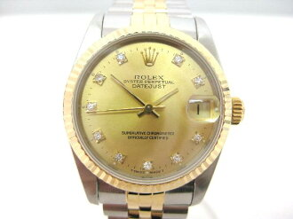 Used brand watch Rolex boys Datejust Combi 68273