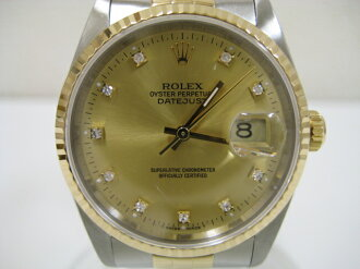 Rolex Datejust / 10 P diamond / Combi 16233 watch