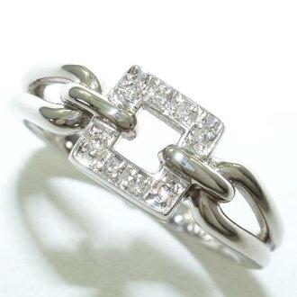 PT900 白金戒指 13 鑽石至 0.053 二手飾品 ★ ★