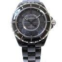 時計 シャネル CHANEL J12 インテンスブラック H3829 メンズ ★送料無料★【中古】【あす楽】