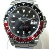 時計 ROLEX GMTマスターII デイト 赤×黒 U番 16710 メンズ ★送料無料★【中古】【あす楽】